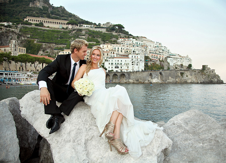 Religious Symbolic Civil wedding ceremonies Amalfi Coast